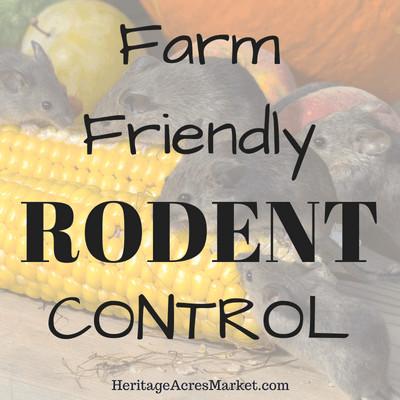 Farm Friendly Rodent Control