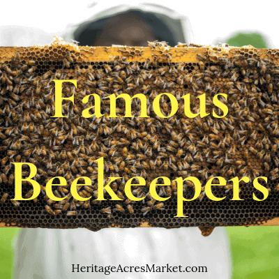 18 Celebrity & Famous Beekeepers