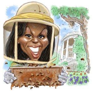 michelle obama beekeeper