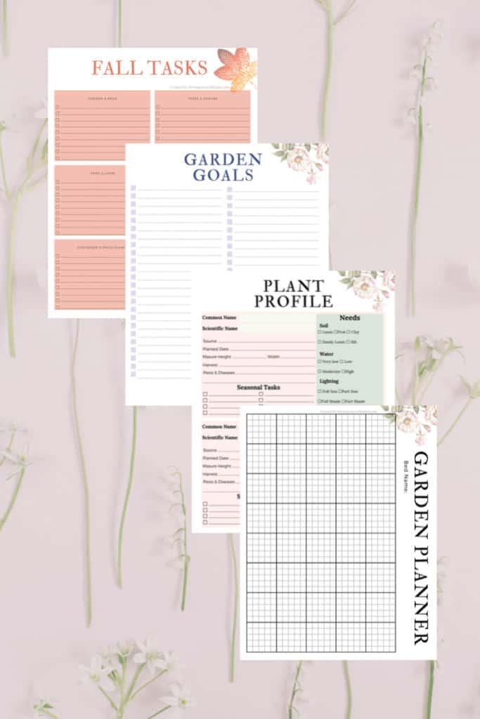garden planner pack