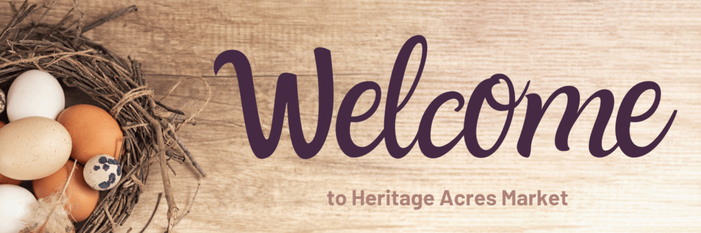 Thank You For Joining the Heritage Acres Family! 1