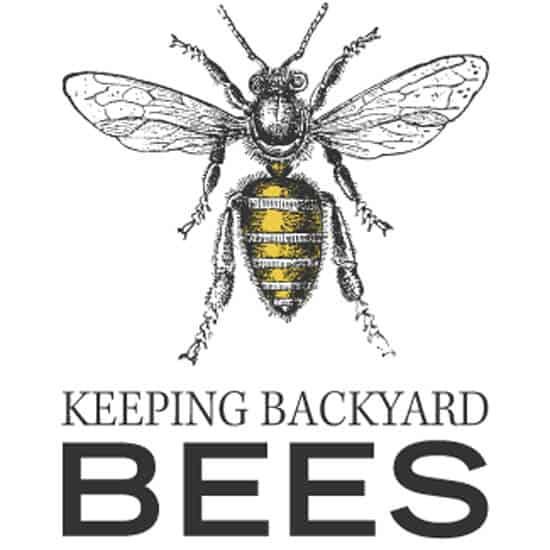 Keeping backyard bees logo