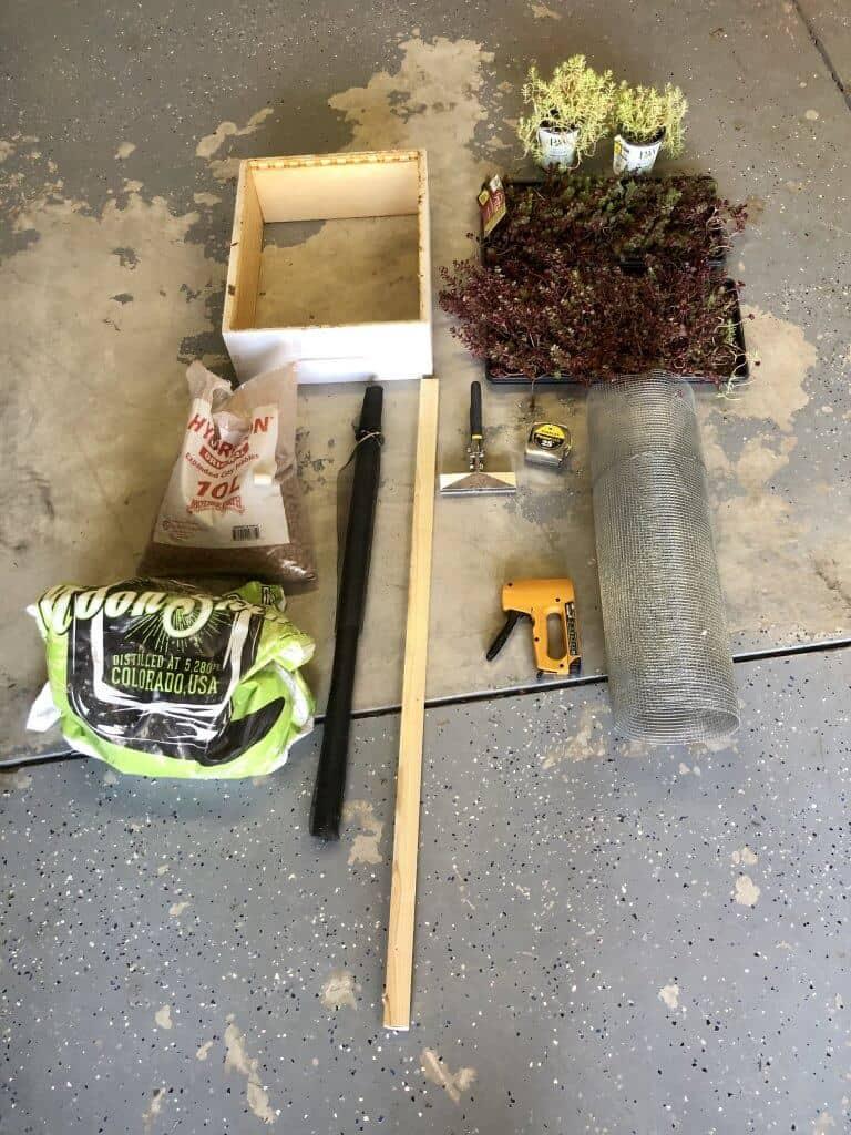 DIY Bee Hive Green Roof 1