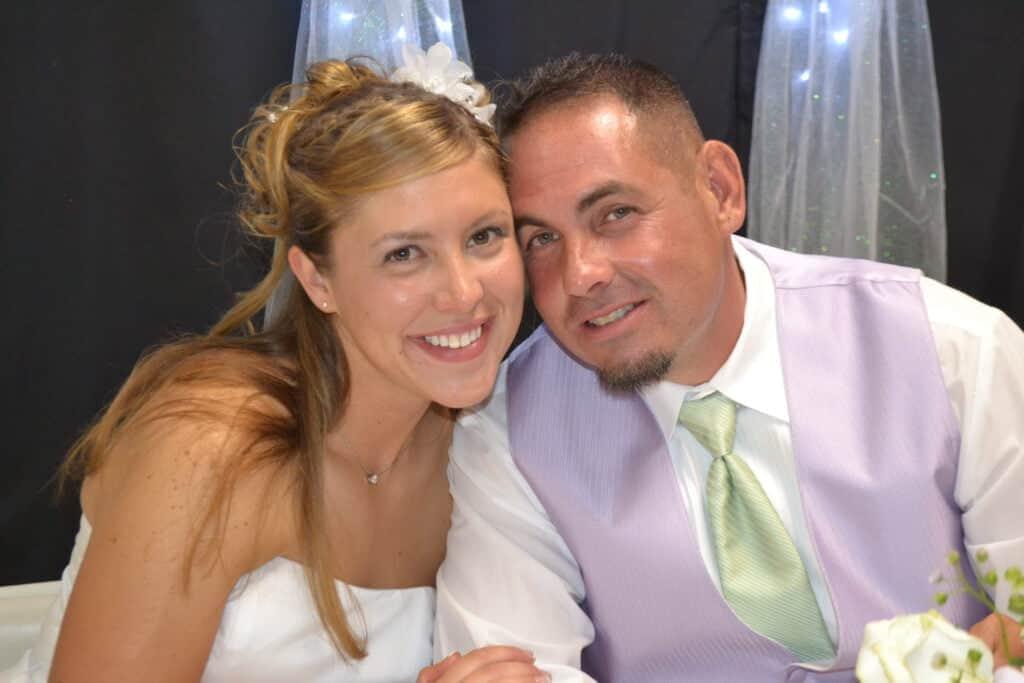 Nicole and Patrick wedding photo