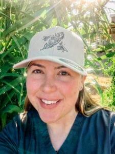 Nicole Gennetta outside