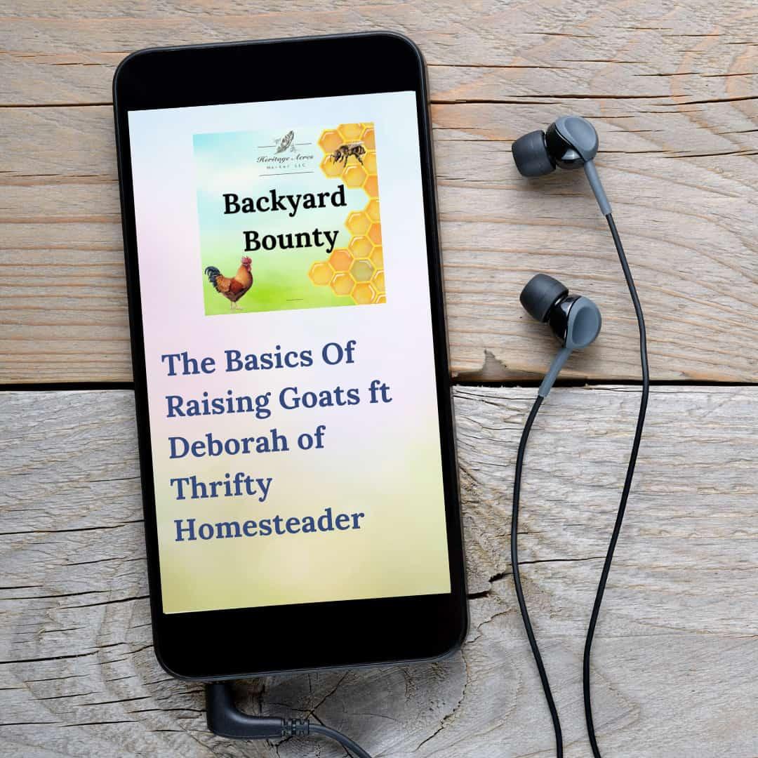 The Basics Of Raising Goats ft Deborah of Thrifty Homesteader