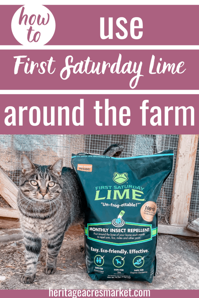 First Saturday Lime: How To Use This Insect Repellant And Deodorizer Around The Farm And Garden 7