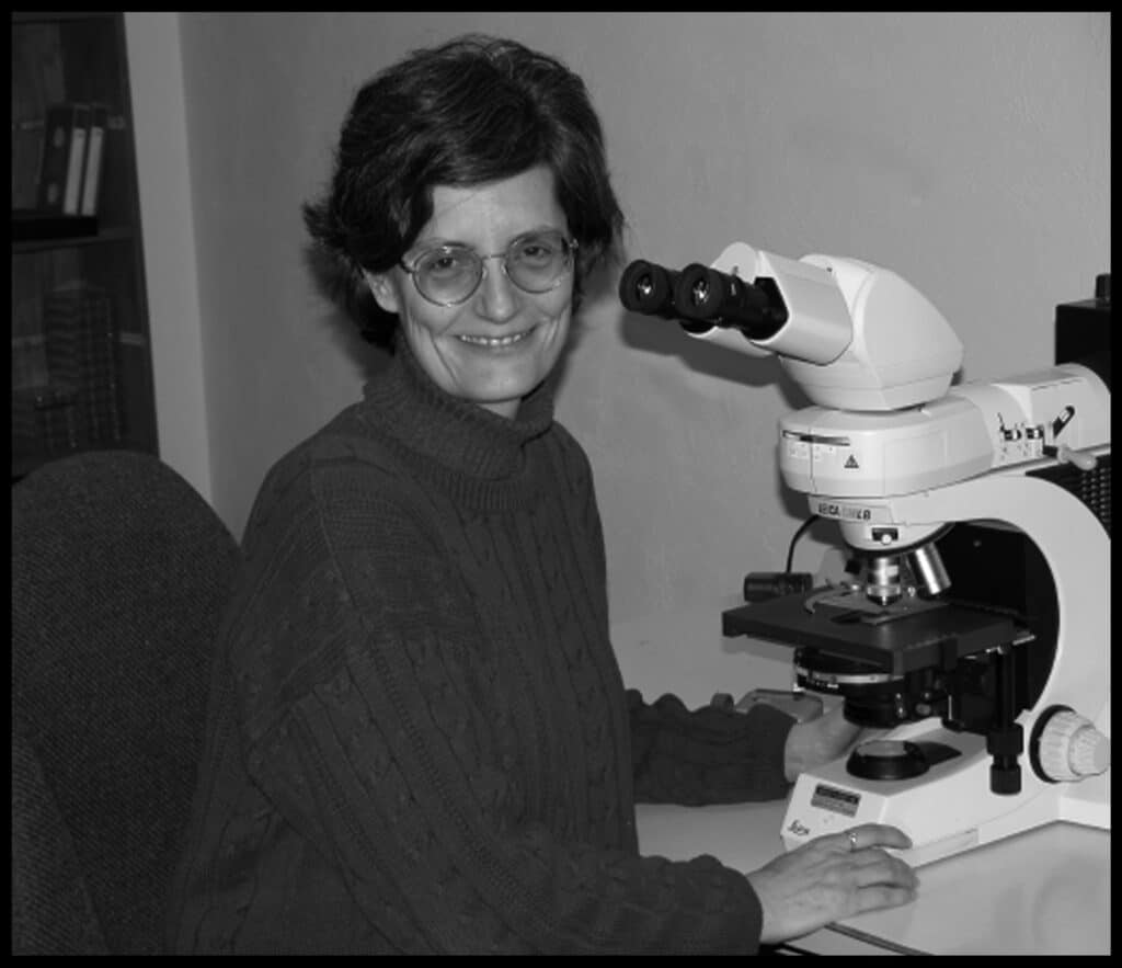 Elaine microscope - Bookings Soilfood Web